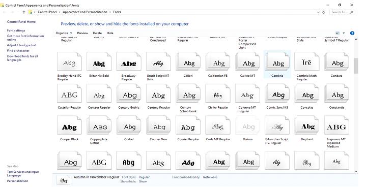 add new fonts