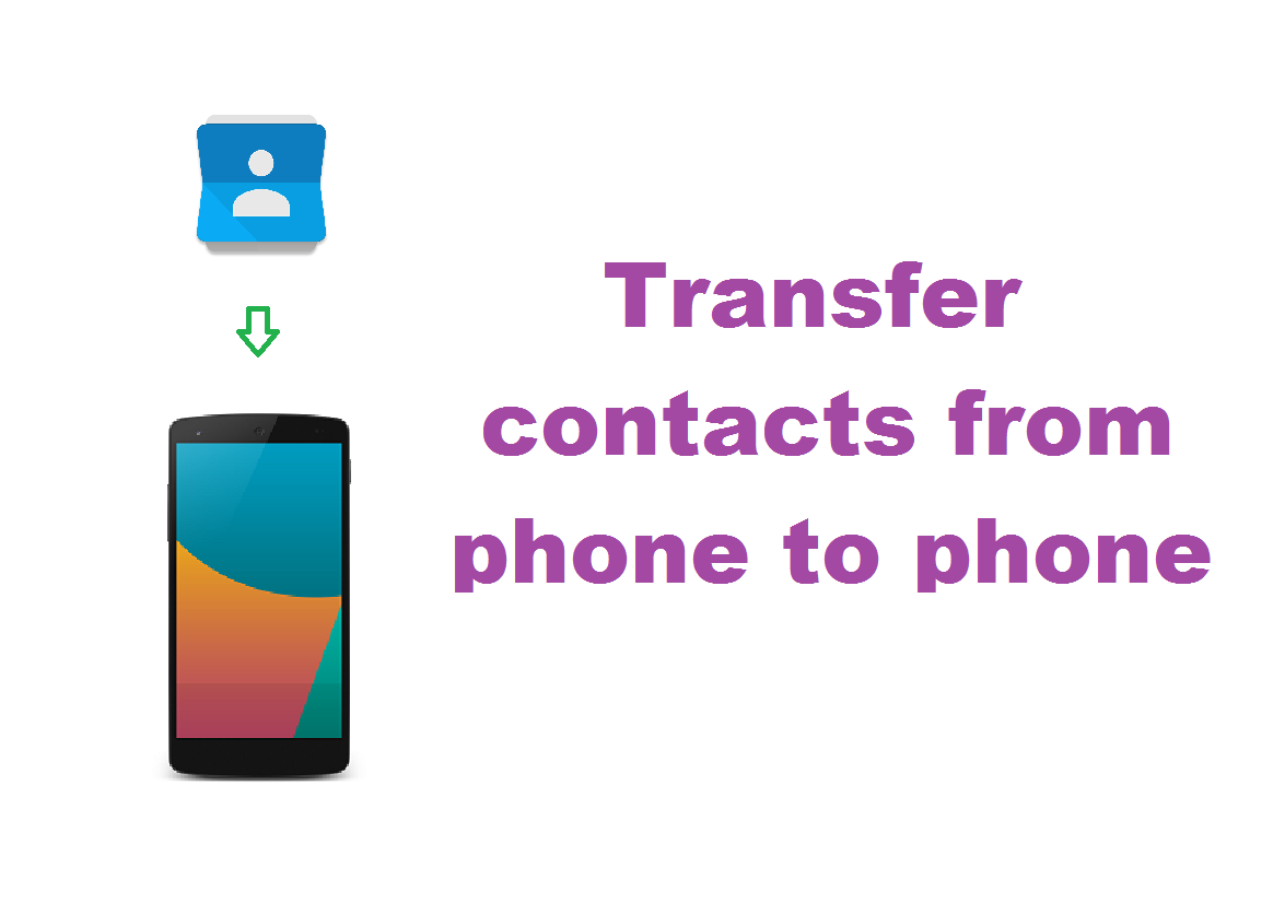 Transfer Contacts From Phone To Phone Android Techieswag
