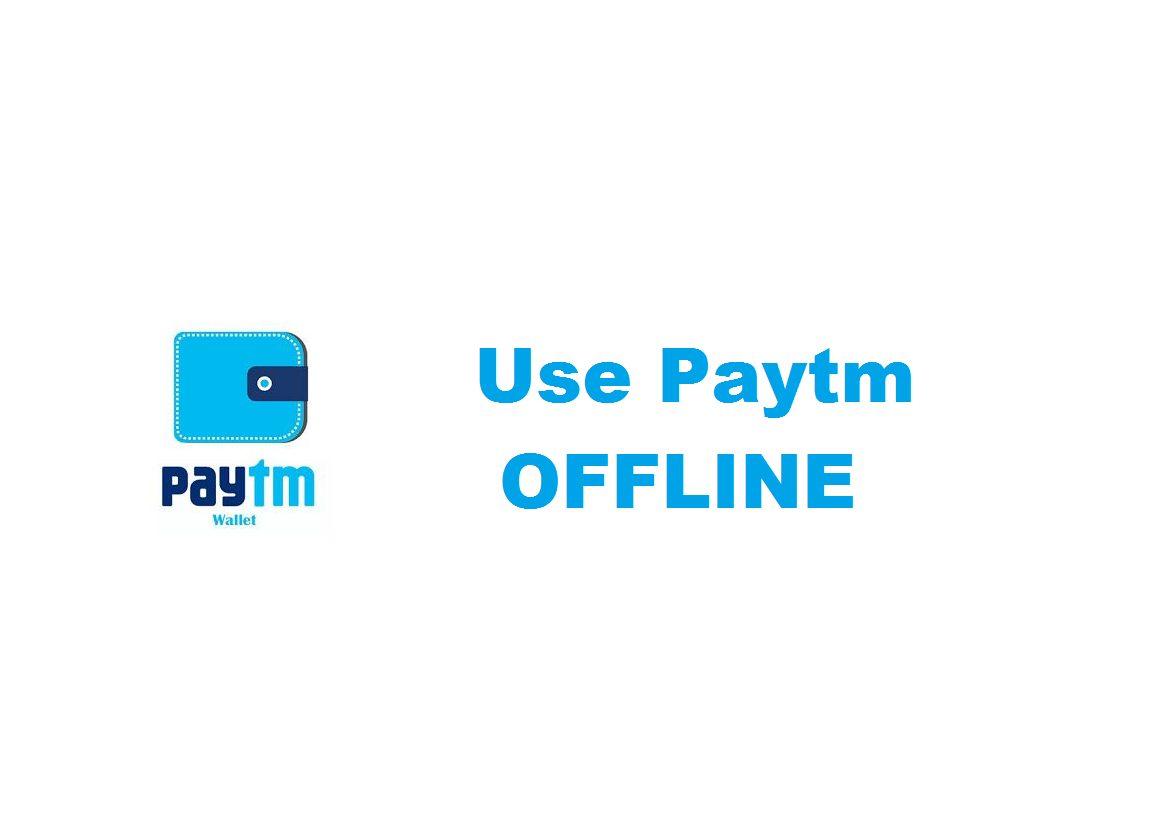 use-paytm-offline