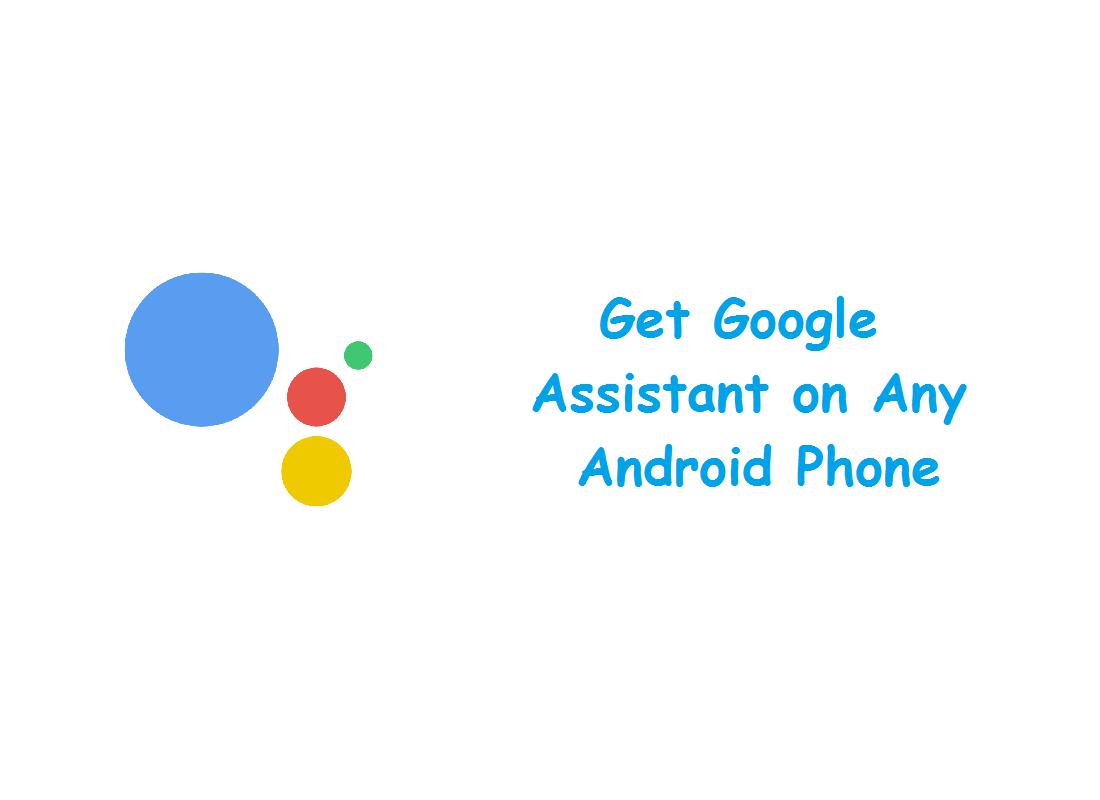 get google assistant