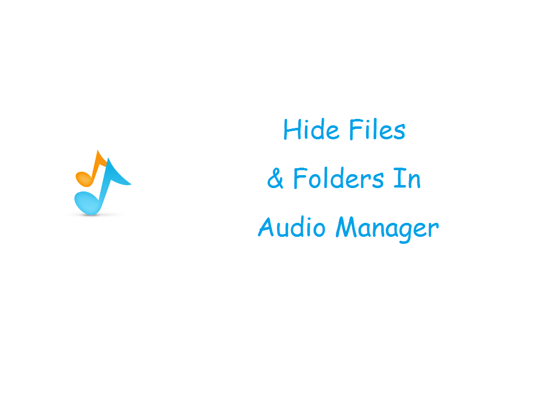 Audio manager hide