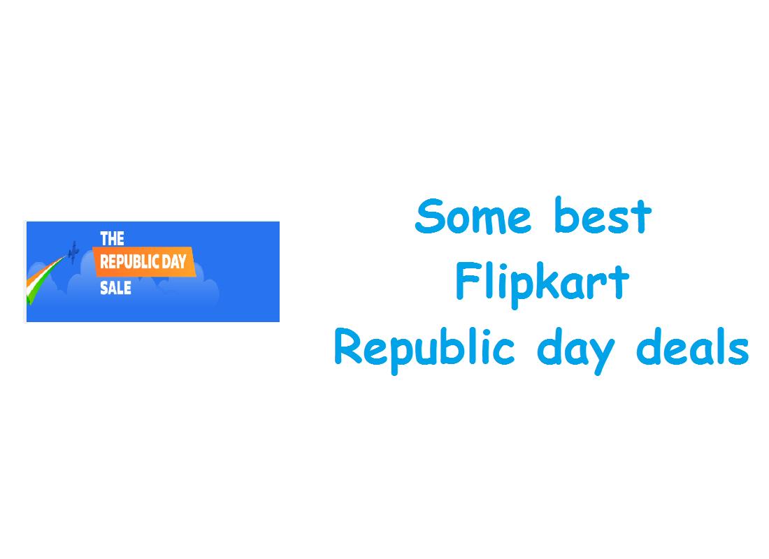 some best Flipkart republic day deals