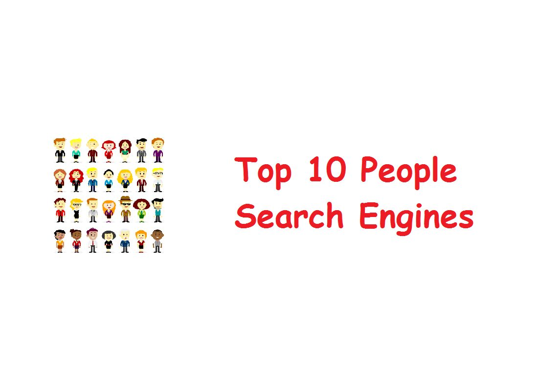 top 10 people search engines