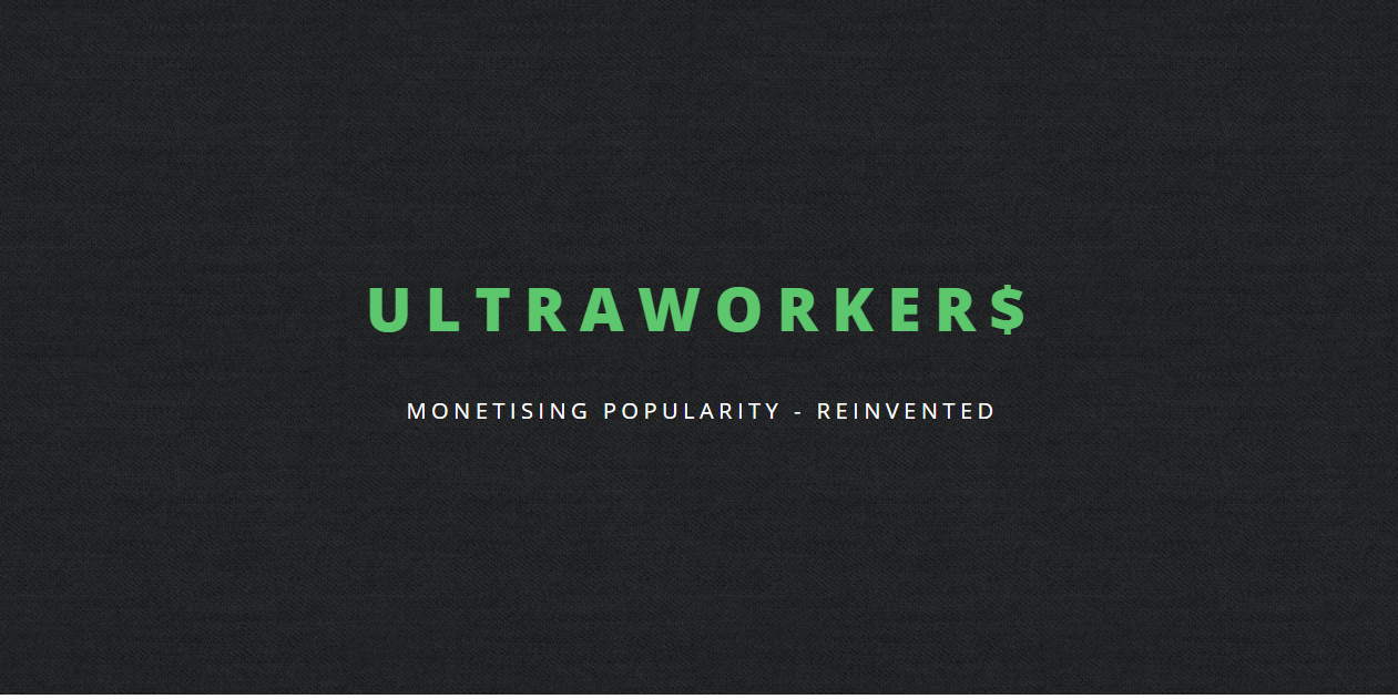 Earn money online with Ultra Workers