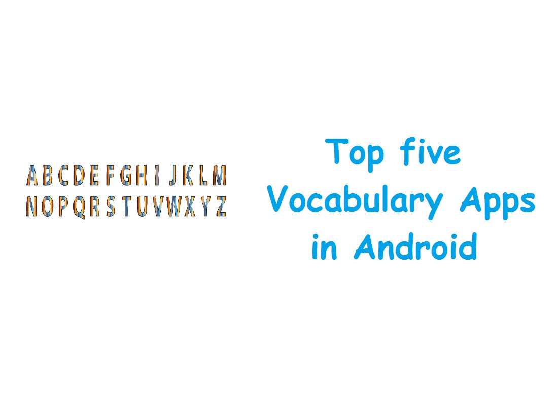 Top five Vocabulary Apps
