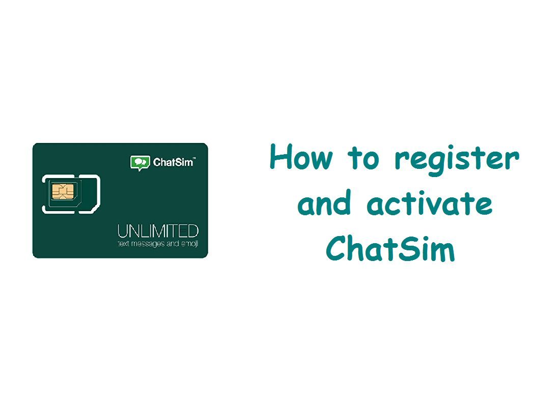 How to register and activate ChatSim