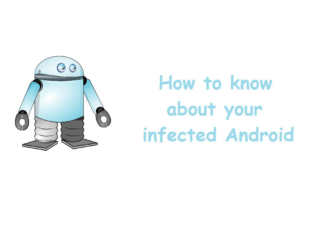 How to know about your infected Android